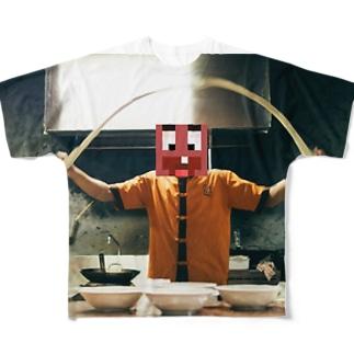 縄跳び Full graphic T-shirts