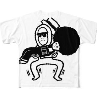 忍耐 Full graphic T-shirts