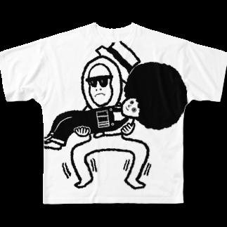 ツンデレボーイズの忍耐 Full graphic T-shirts