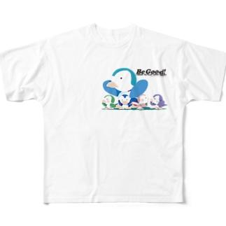 Be Good! 「いい子にしてね!」 Full graphic T-shirts