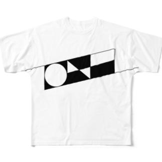 ism的ノアさん(ボツ)デザイン Full graphic T-shirts