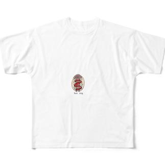 ハニー Full graphic T-shirts