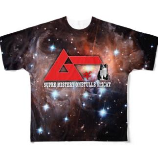 スペースムギー Full graphic T-shirts