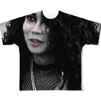 帰ってきた禁断の口一シャツ Full graphic T-shirts