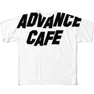 Advance cafe  2 Full graphic T-shirts