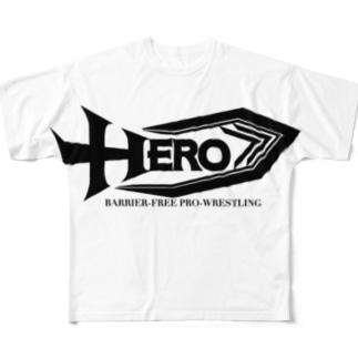 バリアフリー第二段 Full graphic T-shirts