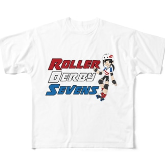 Roller Derby Sevens Full graphic T-shirts