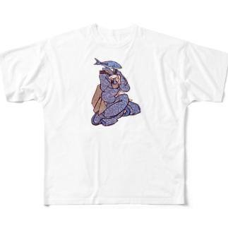 お魚2 Full graphic T-shirts
