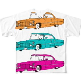 外車外車外車 Full graphic T-shirts