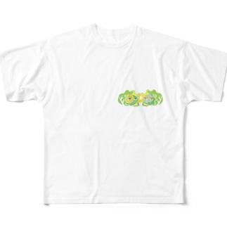キャベツDE Full graphic T-shirts