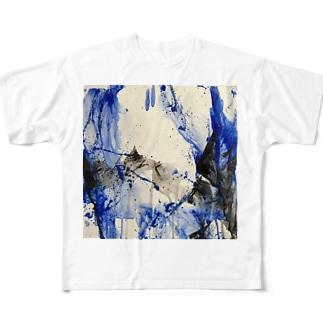 tamajapan art Full graphic T-shirts