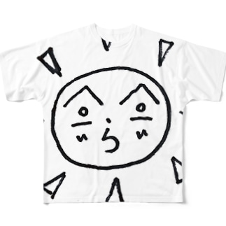 太陽子 Full graphic T-shirts