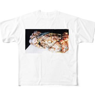 蟹 Full graphic T-shirts