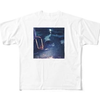 桜 Full graphic T-shirts