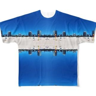 ゴールドコーストのビーチは最高 Full graphic T-shirts
