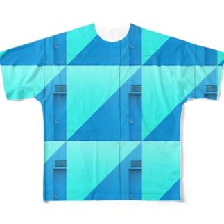 この感じの柄、ボク初めてだよ。。。 Full graphic T-shirts