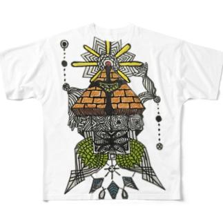 トライガングル Full graphic T-shirts