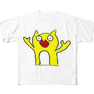 唇モンスター Full graphic T-shirts