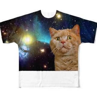 スペイシー Full graphic T-shirts