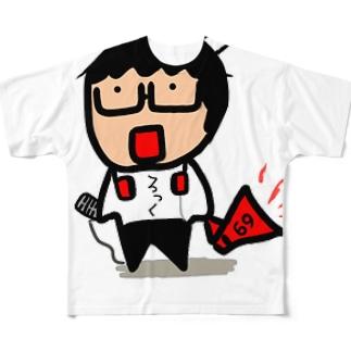 かべちゃん Full graphic T-shirts