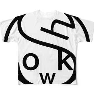 simple is showk! Full graphic T-shirts