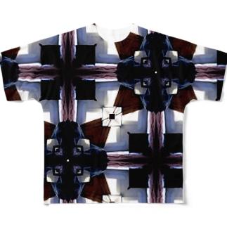 バックパッカーズのベットから見た景色 Full graphic T-shirts