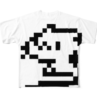 どどねこ-ピコピコ- Full graphic T-shirts