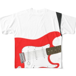 Guitar Full graphic T-shirts