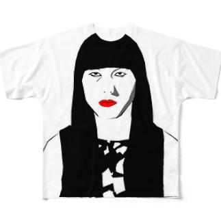 小夜T Full graphic T-shirts