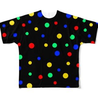 水玉 Full graphic T-shirts