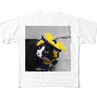 兜を被った太郎 Full graphic T-shirts