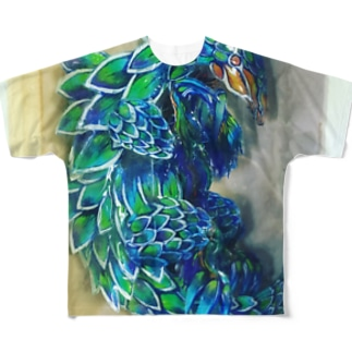 センザン公 Full graphic T-shirts