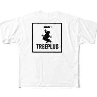 TREEPLUS Full graphic T-shirts