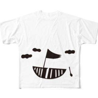 ship Full graphic T-shirts
