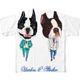 ヤンキーストライカー Full graphic T-shirts