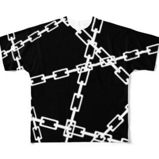 鎖 Full graphic T-shirts