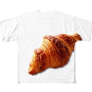 クロワッサン!パン! Full graphic T-shirts