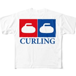 カーリング女子 銅メダリスト専用 Full graphic T-shirts