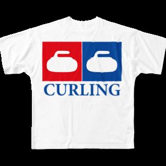 モルTのカーリング女子 銅メダリスト専用 Full graphic T-shirts