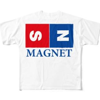 マグネット Full graphic T-shirts