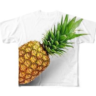 パイナップル!パイン! Full graphic T-shirts