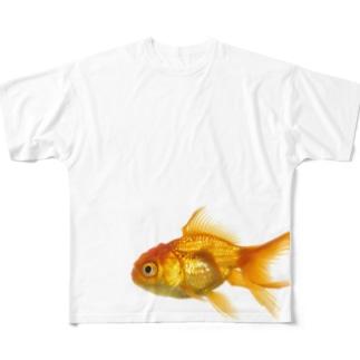 金魚ちゃん Full graphic T-shirts