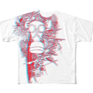 『にこちゃんモデル』 Full graphic T-shirts