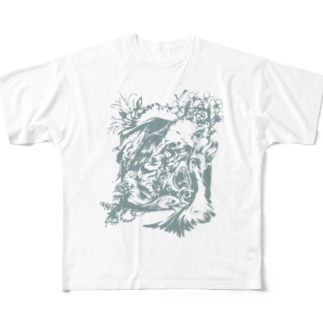 Birds Full graphic T-shirts