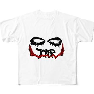 batman joker Full graphic T-shirts