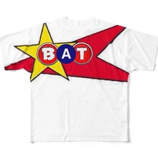 BATフルグラフィック Full graphic T-shirts