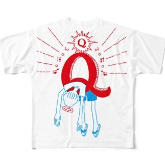 ばたんQ Full graphic T-shirts