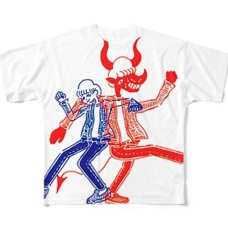 なかよし All-Over Print T-Shirt