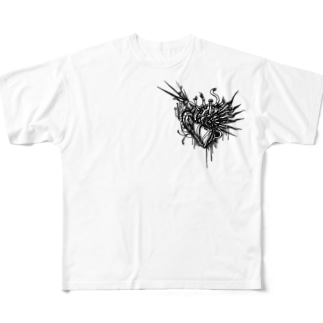 Machinery Heart(FGT) Full graphic T-shirts