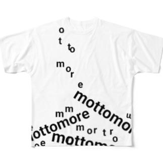 降ってくるmottomore 1 Full graphic T-shirts